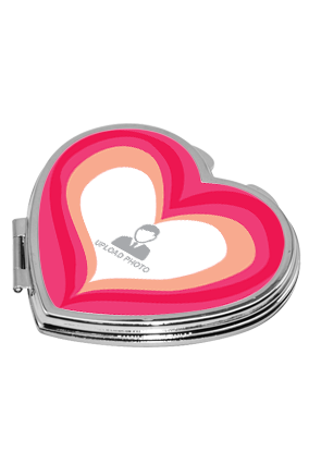 Adorable Valentines Heart Mirror