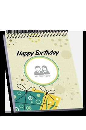 Birthday Gifts Top Spiral Notebook