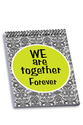 Togetherness Personalized Notebook