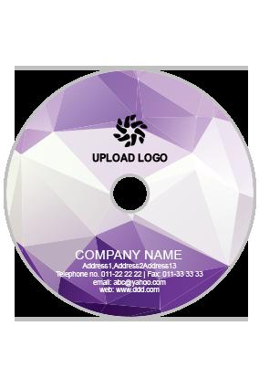 Customized Light Purple DVD