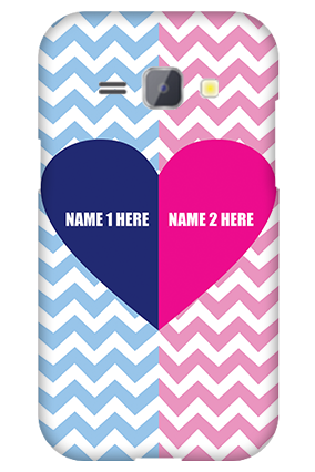 Silicon - Samsung Galaxy J1 My Love Valentine's Day Mobile Cover