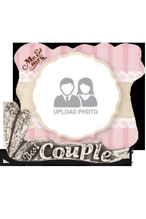 Amazing Wedding Couple Photo Frame