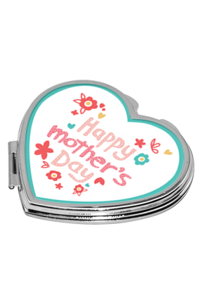 Mother's Day Wish Heart Mirror