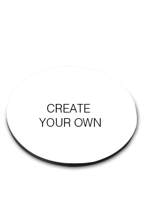 Create Your Own Round Coaster