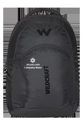 Upload Logo Wildcraft Ace Black Laptop Backpack