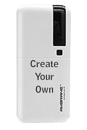 Create Your Own 10000mAh Ambrane Power Bank White
