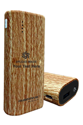 Create Your Own Ambrane P-5200-5200 mAh Power Bank Wooden