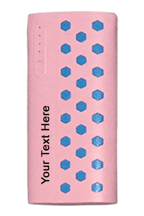 Arb P-52 Power Bank 8000 Mah Pink With Skyblue