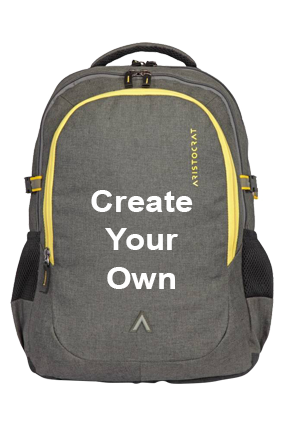 Create Your Own Aristocrat Grid 1 34 L Laptop Backpack(Grey)