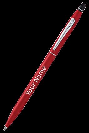 Cross AT0622-119 Click Crimson Ball Point Pen
