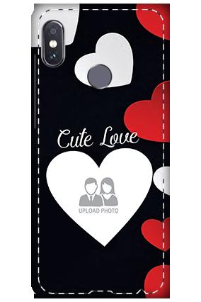 3D - Xiaomi Redmi Note 5 Pro Cute Love Mobile Cover