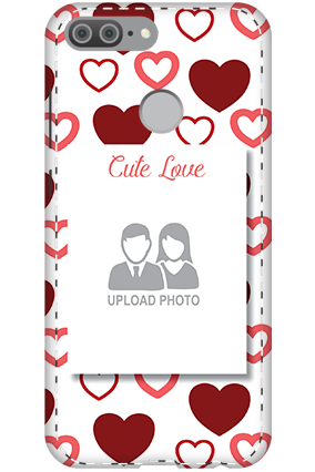 3D - Huawei Honor 9 Lite Our Cute Love Mobile Cover