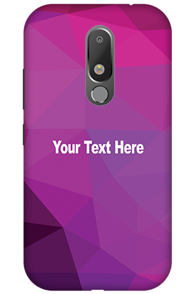 3D - Motorola Moto M Abstract Color Mobile Cover