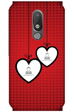 3D - Motorola Moto M Minimalistic Dots Mobile Cover