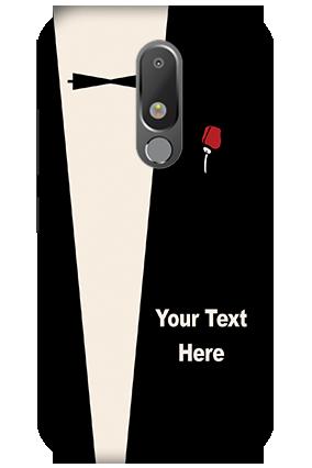 Designer 3D-Motorola Moto M A Gentleman Theme Mobile Cover