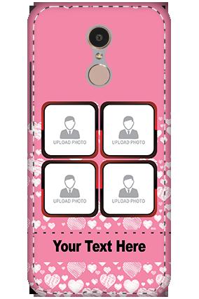 3D - Xiaomi Redmi 5 Candy Color Little Heart Mobile Cover