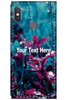 3D - Xiaomi Redmi Note 5 Pro Botanic Mobile Cover