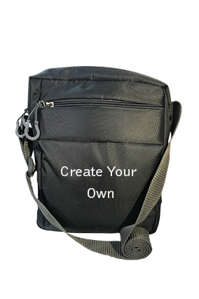 Create Your Own Grey Sling Bag