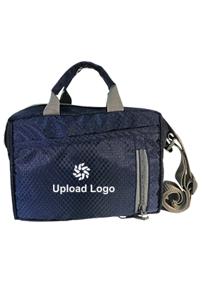 Upload Logo Dark Blue Sling Bag
