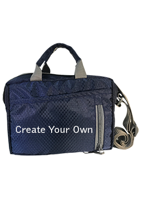 Create Your Own Dark Blue Sling Bag