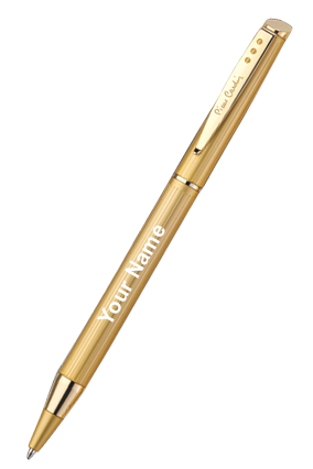 Pierre Cardin Beverly Hills Ball Pen Golden