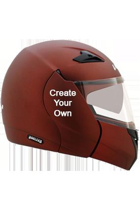 Create Your Own Vega Boolean Dull Burgundy Helmet