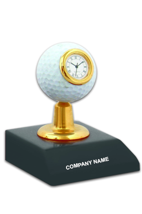 Wooden Golf Ball Clock BTC-362