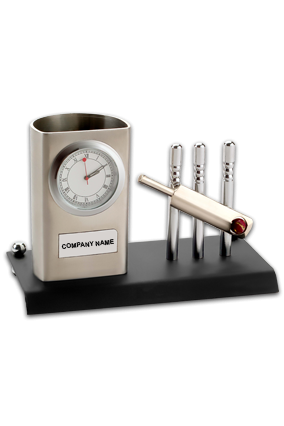 Cricket Clock Pen Stand BTC-477