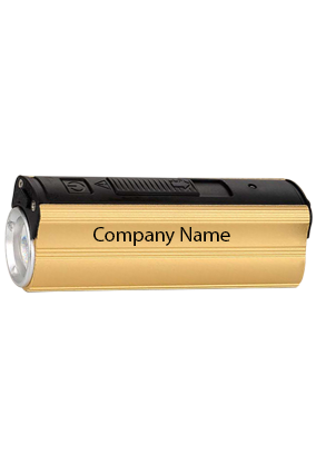Metal Power Bank With Lighter Two Level Torch And Blinker-C51