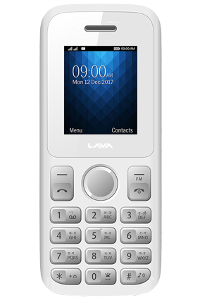 Lava Captain N1 Lite  - White Grey