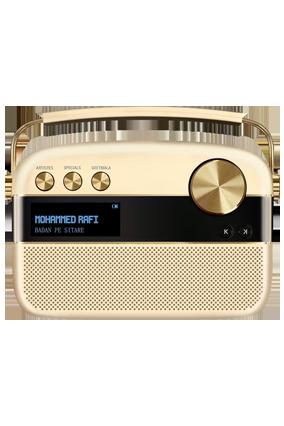 Saregama Carvaan Portable Digital Music Player (Champagne Gold)