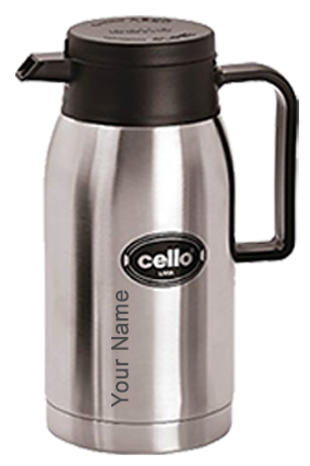 Cello Livia 750 Ml Flask (Silver)