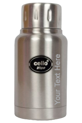 Promotional Cello Vigo  Stainless Steel 180 Ml Flask