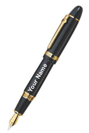 Pierre Cardin Chancellor Fountain Pen Black