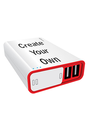 Create Your Own 10000mAh Portronics Power Bank White