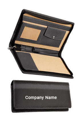 Cheque Book Cover Leatherite Grey Code-GE 133