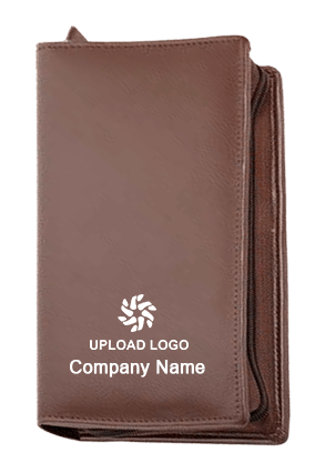 Passport Holder Leatherite Zip Code-GE 145