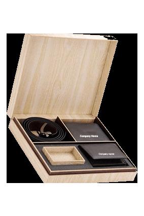 Gents Wallet, V. Card Holder & Belt Leatherite Code-GE 251