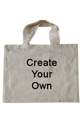 Create Your Own Cotton Tote Bag 15.6X11.8 Tote Bag