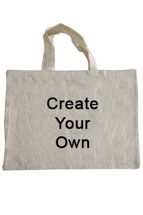 Create Your Own Cotton Tote Bag 16.1X14.4 Tote Bag