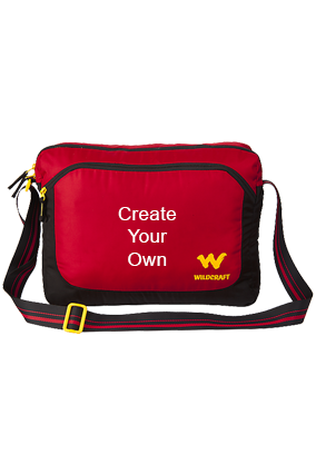 Create Your Own Wildcraft Courier 2 Red Laptop Backpack