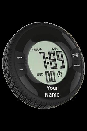 Creative Lcd Tire Digital Alarm Clock