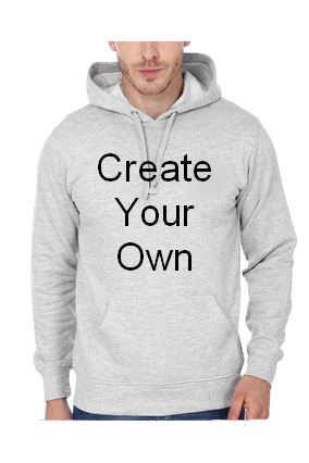 Create Your Own Grey Hoodie