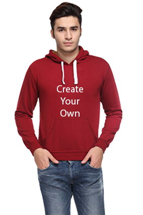 Create Your Own Hoodie (Maroon)
