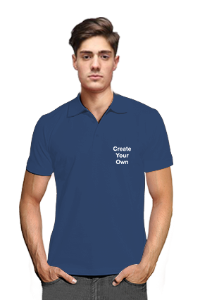 Create Your Own V Club Collar Royal Blue T-Shirts
