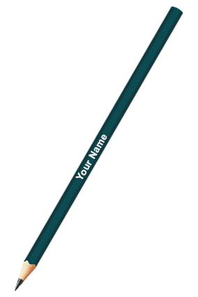Drawing Pencils Assorted 6 Pc Pack (HB,2B,4B,6B,8B,10B) Green