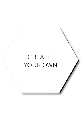 Create Your Own Hexagonal Coaster