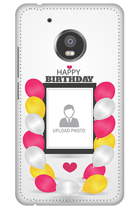 3D -  Moto G5 Birthday Greetings Mobile Cover