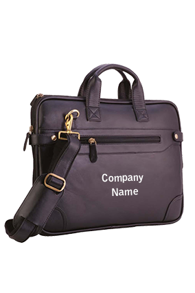 Executive Bag Leatherite Black GE-1152