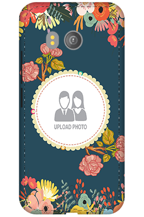 3D - HTC U11 Flowers Mobile Cover